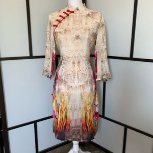 NWT STYLEWE ELENYUN Asian Inspired Silk Tunic